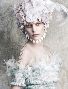 Vogue Germany April 2014 | Chanel Haute Couture Spring 2014 by Luigi+Iango