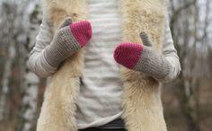 Crochet Mittens by mari.bou