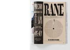 RANE: Cultural Section of IL Magazine | Magazine Design Inspiration - MagSpreads