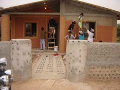 Plastic Bottle House | Art & Design  #Art #Design #Plastic #Bottle #House #Yelwa #Nigeria