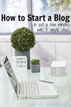 How to Start a Blog - Start your own blog in just a few minutes with these 3…