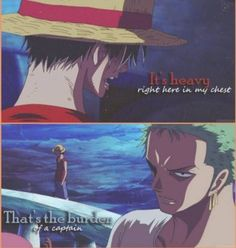 Luffy and Zoro -One Piece