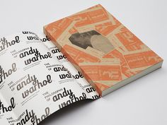 The Philosophy of Andy Warhol by wangzhihong.com, via Behance