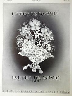 Vintage Caron Baccarat Style Perfume Bottle Pois De Senteur De Chez Moi Decorative Glass/crystal 1 Oz