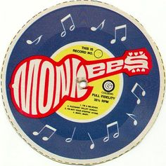 Monkees record from the back of a box of cereal box.