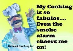 #cooking #fabulous #smoke #alarm #funny #kitchen #humor #humorous
