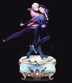 Victor Nikiforov x Yuri Katsuki - Yuri!!! on ICE