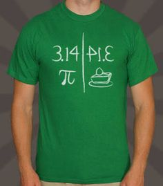 pi shirt - Google Search