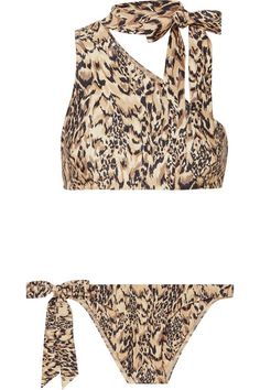 Zimmermann - Eyes On Summer One-shoulder Leopard-print Bikini - Leopard print Source by netaporter outfits Leopard Print Bikini, One Shoulder Tops, Fashion 2020, Fashion News, Style Fashion, Top Designer Brands, Passion For Fashion, Bikinis, Swimwear