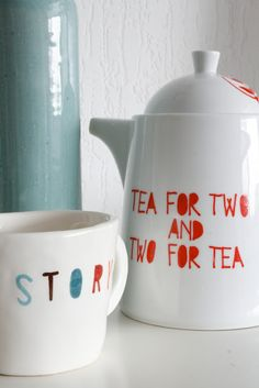 Tea for two & two for tea @Tiffany Lees