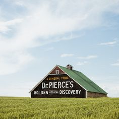 barn with dr. pierce's ad, waterville, washington