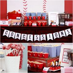 printable sports party package - Google Search