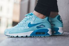 Nike Air Max 90 Premium Leather 'Snowflake'