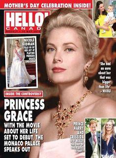 Grace Kelly - Hello! Magazine Cover [Canada] (19 May 2014)