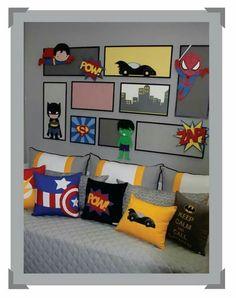 70 Ideas kids room for boys shared for 2019 Teal Teen Bedrooms, Kids Bedroom, Avengers Bedroom, Kids Room Lighting, Kids Room Paint, Kids Room Furniture, Kids Room Design, Room Themes, Girl Room