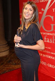 Bump Watch! A Glowing Nina Garcia Shows Off Her Pregnancy Style On The Red Carpet!