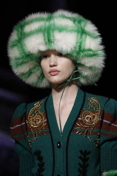 See detail photos for Miu Miu Fall 2017 Ready-to-Wear collection.