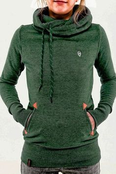 Cozy, cute and fitted. Love the color too!