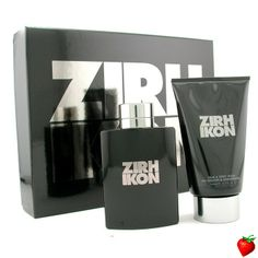 Zirh International Ikon Coffret: Eau De Toilette Spray 125ml/4.2oz + Hair & Body Wash 200ml/6.7oz 2pcs #ZirhInternational #Perfume #MensSets #MensGift #StrawberryNET