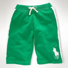 Polo Ralph Lauren Big Pony Shorts Yellow