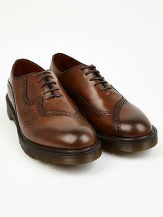 Dr Martens Men's Brown MIE Claude Shoes   oki-ni