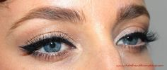 Kate Franklin Makeup - Eyeliner flick using Laura Mercier Gel Liner