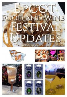 News! 2016 Epcot Food and Wine Festival Updates — World Showcase Booths, Special Events, Culinary Demos