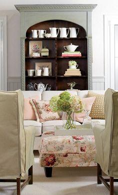 Cottage living room..