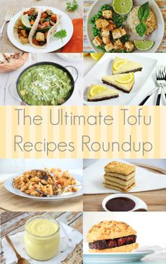 Tofu Recipe Roundup!
