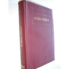 Kyong Naga (Lotha) Language Bible / NTHO BIBLE Ntsata Ehen tona Ethan to Tsotsucho / C.L.Vinyl Bound / The Lotha (Lhota) language is spoken by approximately 80,000 people in the northeastern Indian state of Nagaland    $79.99