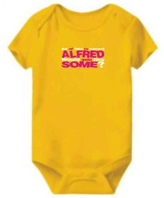 All Of This Is Named Alfred Would You Like S...