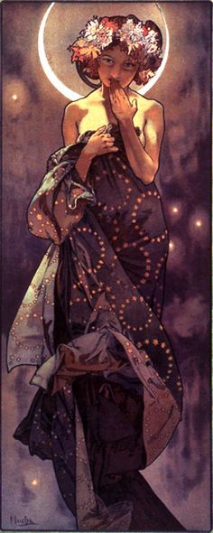 Mucha - The Moon