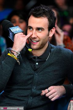It's really interesting how Matthew Lewis has gone from being Neville Longbottom to becoming quite the strapping gent. He kinda looks like Sufjan Stevens now.