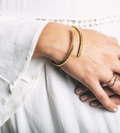 Hammered Wrap Bangle by Make Pie Not War on Scoutmob Shoppe