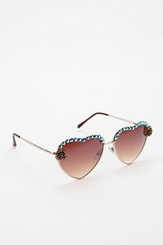 3978db902e Urban Outfitters Dollhouse Sunglasses in color Gold Urban Outfitters  Sunglasses