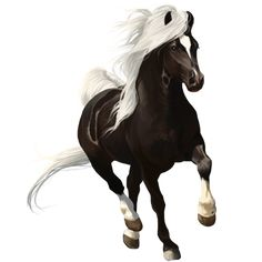 Kill Me Softly, Riding Horse Friesian Black - Howrse Painted Horses, Most Beautiful Horses, Pretty Horses, Horse Games, Unicorn Pictures, Painted Pony, Unicorn Art, Horse Drawings, Friesian