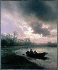Herman Herzog (1832-1932) - On Alachua lake (1890 circa)