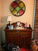 Vintage Dark Stain Wood Dry Sink Local Pick up by JenCinAntiques, $200.00