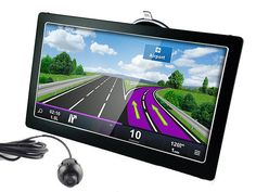 7 Inch Touchscreen Car GPS Navi Tablet Parking Kit – BT, FM, HD Reverse Camera