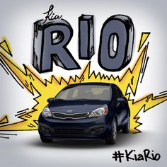 Designed to strike your attention. #KiaRio