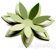 """Képtalálat a következőre: """"5 petal paper flower printable"""""""