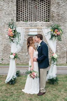 Wedding arch | flowers