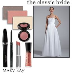 """""""The Classic Bride"""" by marykayus on Polyvore Order look: www.marykay.com/michelledoucette"""