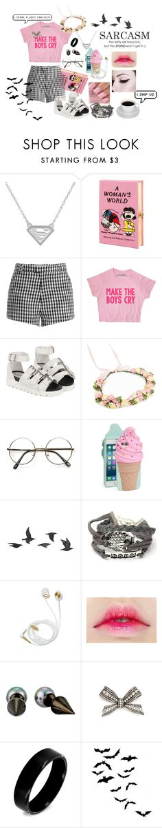 """""""Feminism #2"""" by shyanimallover5 ❤ liked on Polyvore featuring Olympia Le-Tan, Sandy Liang, Rut&Circle, Kate Spade, Jayson Home, Majorica, Lanvin and West Coast Jewelry"""