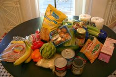 The Gardener's Cottage: groceries from the 99 cent store. On a tight budget? You need to read! : )