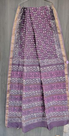 Price Rs 2145 + Shipping extra Beautiful hand block printed Maheshwari silk sarees With blouse Bridal Sarees, Designer Sarees, Sarees Online, Silk Sarees, Party Wear, Printed, Stylish, Blouse, Casual