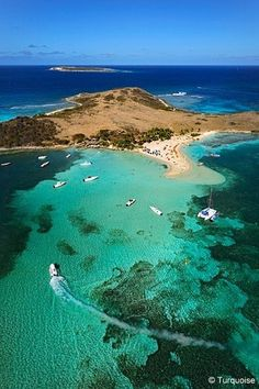 Pinel Island, St Martin, Caribbean