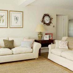 Neutral living room | housetohome.co.uk