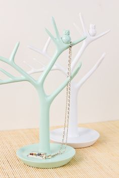 "Tree with Owl Jewelry Stand, 9.5"" -this is too cute, need this next ;-)"
