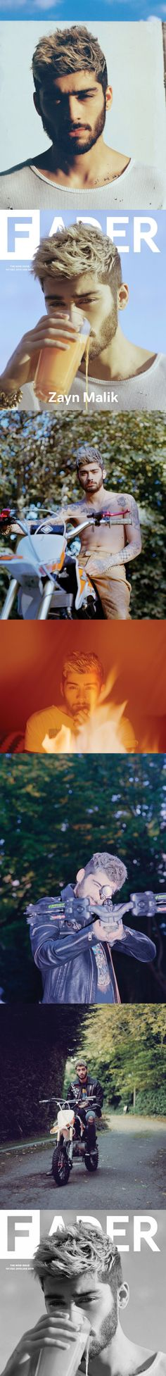 Zayn Malik's very first interview after his exit. Covering his exit,his struggle,his music,break up,even bromances/ships. Click on the image for the full interview. Trust me you don't wanna miss this.